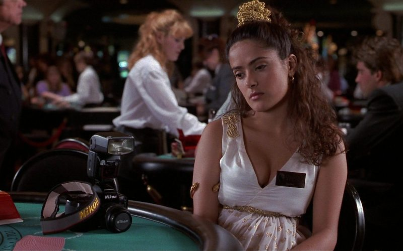 Nikon Camera Used by Salma Hayek as Isabel Fuentes-Whitman in Fools Rush In (1)