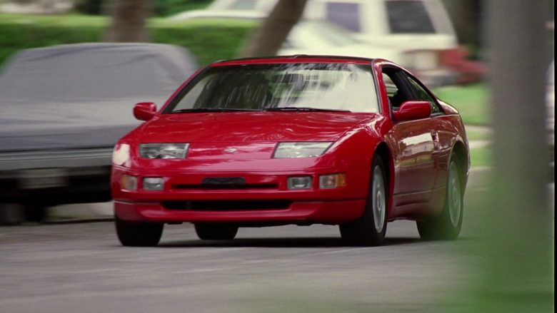 Nissan 300ZX 2+2 Red Car in Good Burger (1997) Movie
