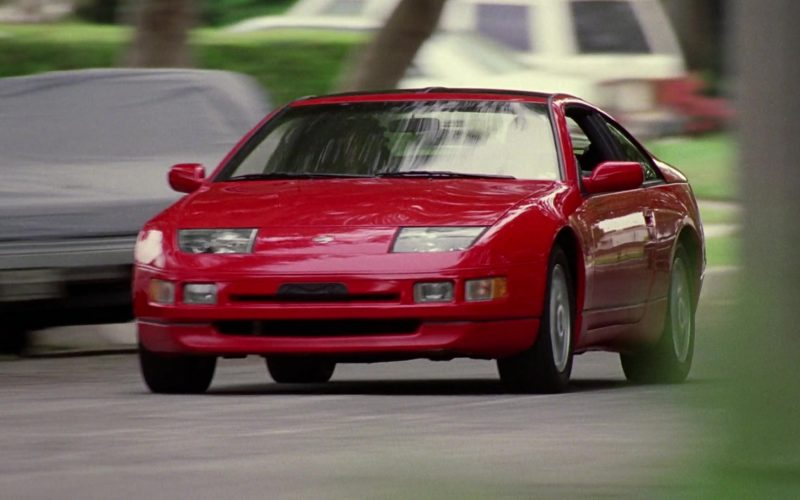 Nissan 300ZX 2+2 Red Car in Good Burger (1997)
