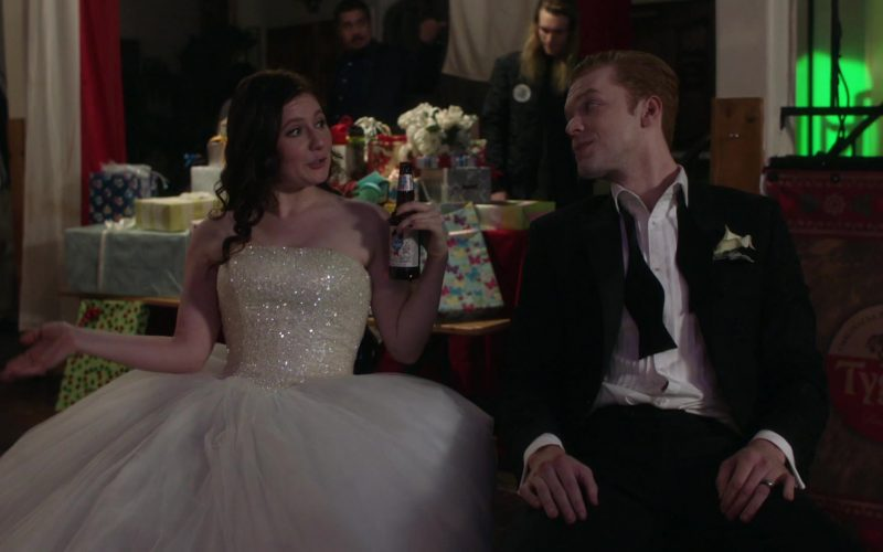 Old Style Beer Enjoyed by Emma Kenney as Debbie Gallagher in Shameless Season 10 Episode 12 (1)