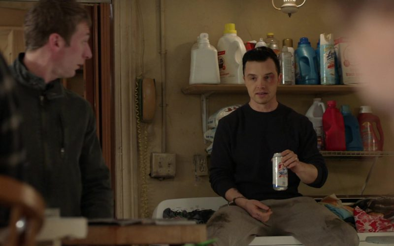 Old Style Beer Enjoyed by Noel Fisher as Mickey Milkovich in Shameless Season 10 Episode 12 (1)