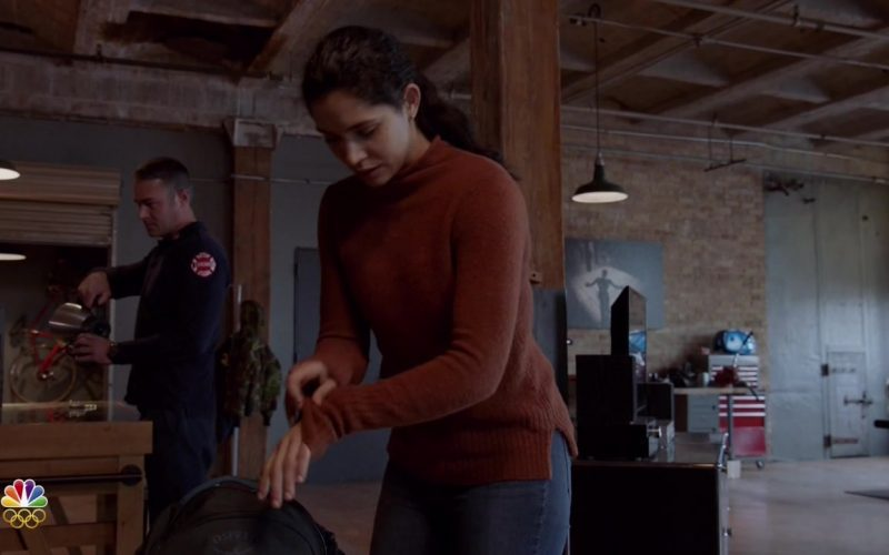 Osprey Backpack in Chicago Fire Season 8 Episode 12 Then Nick Porter Happened (2020)