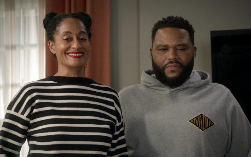 Ovadia & Sons Grey Hoodie Worn by Anthony Anderson as Dre in Black-ish Season 6 Episode 14 (1)