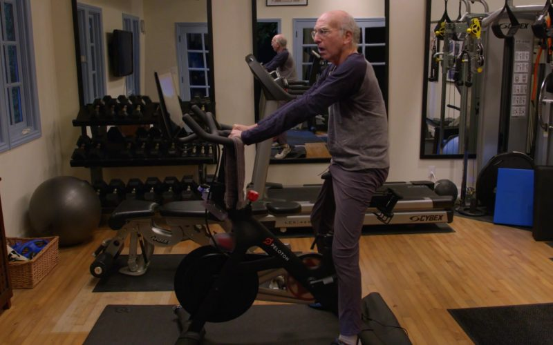 Peloton Bike Used by Larry David in Curb Your Enthusiasm Season 10 Episode 1 Happy New Year (2)