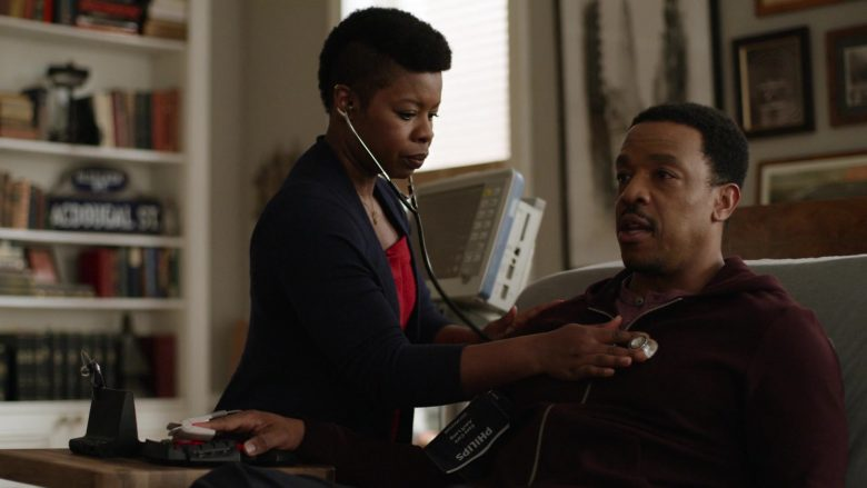 Philips Easy Care Cuff Used by Russell Hornsby in Lincoln Rhyme Hunt for the Bone Collector Season 1 Episode 1 Pilot (1)