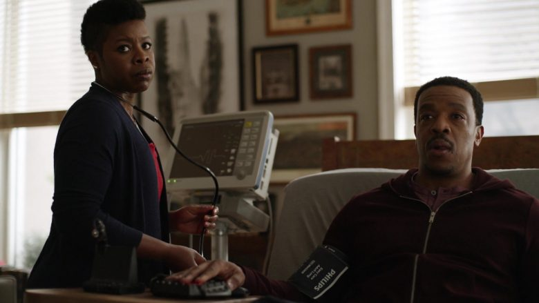 Philips Easy Care Cuff Used by Russell Hornsby in Lincoln Rhyme Hunt for the Bone Collector Season 1 Episode 1 Pilot (2)