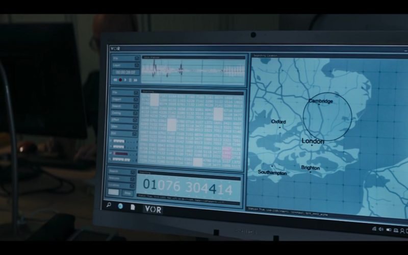 Philips Monitor in Doctor Who Season 12 Episode 2 Spyfall, Part 2 (2020)