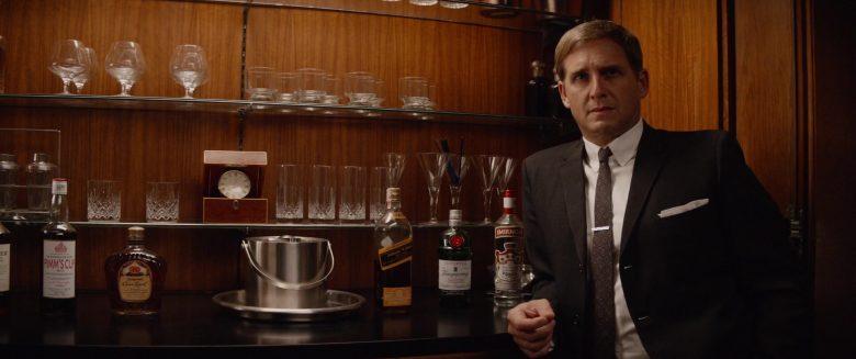 Pimm's No. 1 Cup, Johnnie Walker Whisky, Tanqueray Gin, Smirnoff Vodka in Ford v Ferrari (2019)