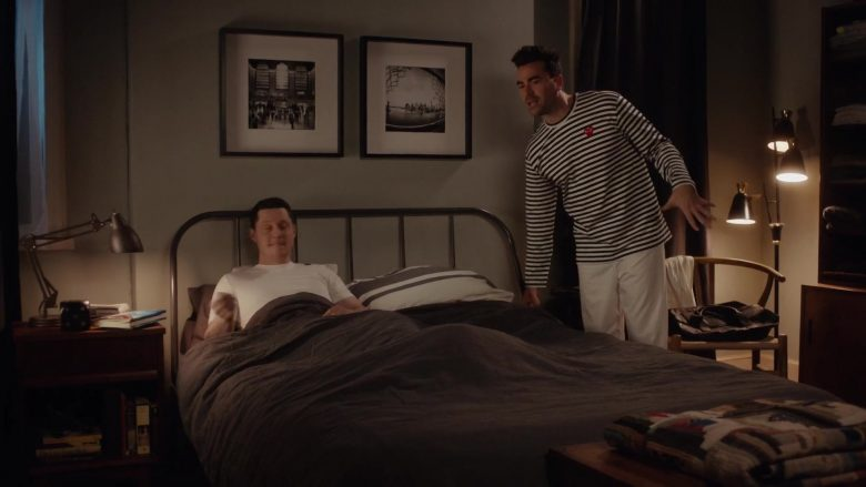 Play Comme des Garçons Striped Long Sleeve T-Shirt Worn by Daniel Levy as David Rose in Schitt's Creek Season 6 Episode 2 (1)