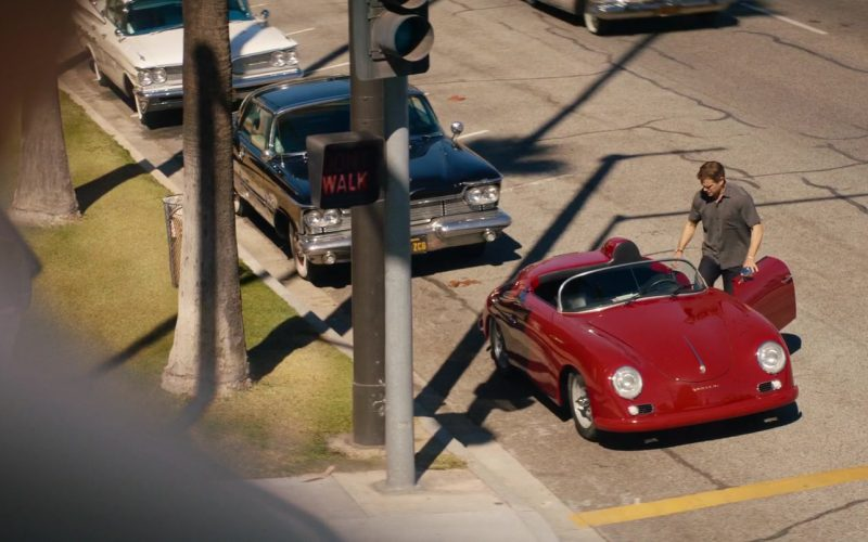Porsche 356 Red Convertible Car Used by Matt Damon in Ford v Ferrari (1)