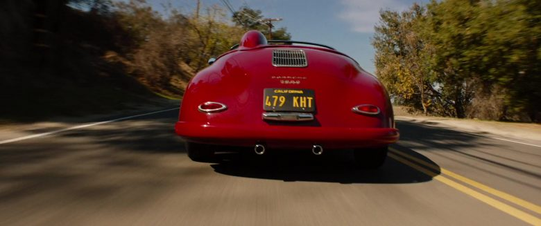 Porsche 356 Red Convertible Car Used by Matt Damon in Ford v Ferrari (2)