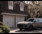 Porsche Cayenne Mid-Size Luxury Crossover Sport Utility Vehicle in Grace and Frankie Season 6 Episode 10 The Scent (1)
