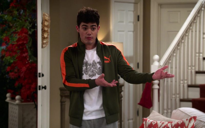 Puma Jacket Worn by Emery Kelly as Lucas in Alexa & Katie Season 3 Episode 1 1st Day of Junior Year