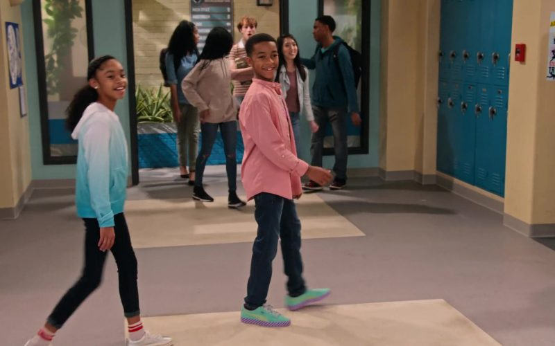 Puma Shoes Worn by Isaiah Russell-Bailey as Shaka McKellan in Family Reunion Season 1 Episode 12 Remember the Dance Battle
