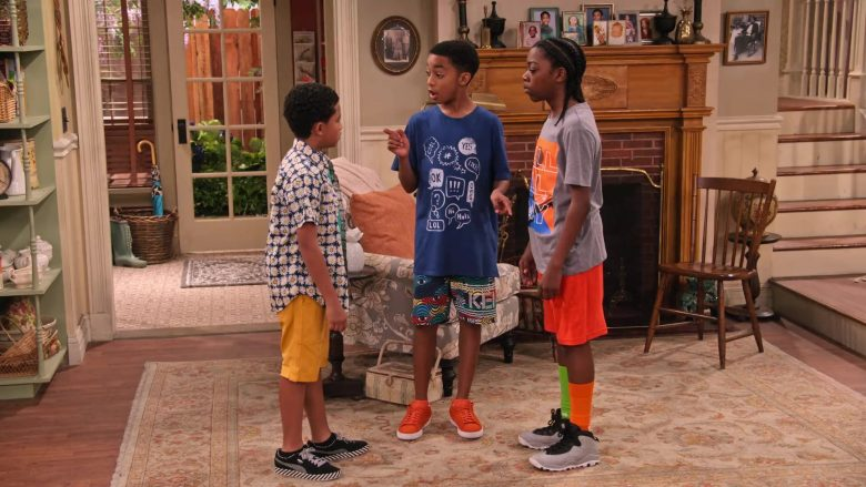 """Puma Sneakers Worn by Cameron J. Wright as Mazzi McKellan in Family Reunion Season 1 Episode 20 """"Remember When the Party Was Over?"""" (2020) TV Show"""