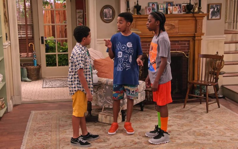 Puma Sneakers Worn by Cameron J. Wright as Mazzi McKellan in Family Reunion Season 1 Episode 20
