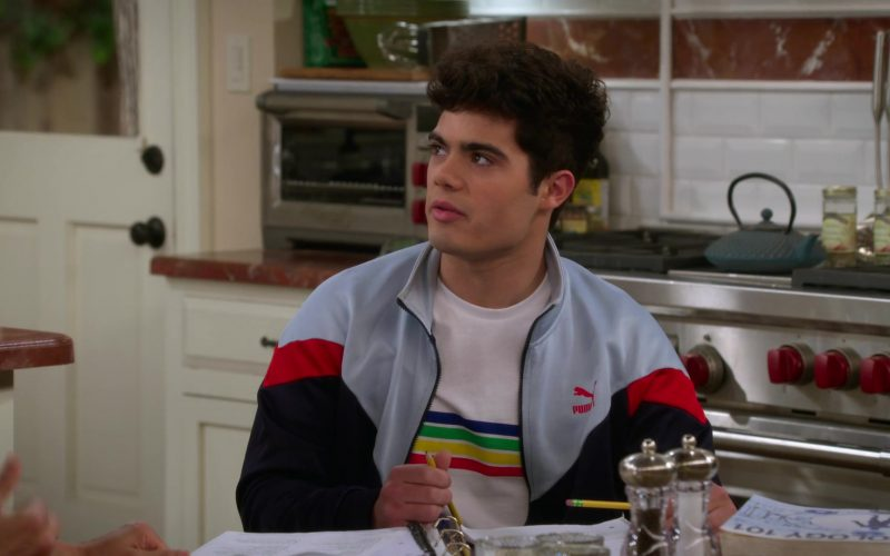 Puma Sports Jacket Worn by Emery Kelly as Lucas in Alexa & Katie Season 3 Episode 3 Always Something There to Remind Me (2)