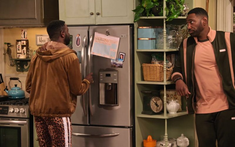 Puma Tracksuit Worn by Anthony Alabi as Moz McKellan in Family Reunion Season 1 Episode 14 Remember Our Parents' Wedding (1)