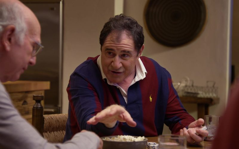 Ralph Lauren Long Sleeve Shirt Worn by Richard Kind in Curb Your Enthusiasm Season 10 Episode 2 (2)
