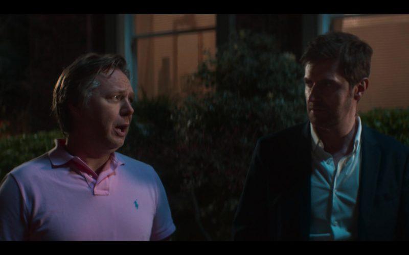 Ralph Lauren Pink Polo Shirt Worn by Shaun Dooley as Tripp in The Stranger Episode 3 (1)
