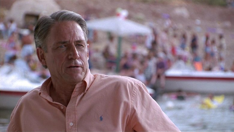 Ralph Lauren Pink Shirt Worn by John Bennett Perry as Richard Whitman in Fools Rush In (1997) - Movie Product Placement