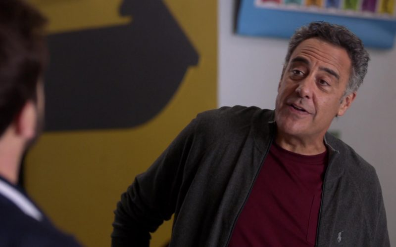 Ralph Lauren Sweater Worn by Brad Garrett as Douglas Fogerty in Single Parents Season 2 Episode 12 Welcome to Hilltop (2)