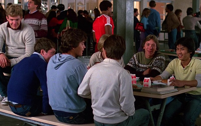 Ralph Lauren Yellow Polo Shirt in Fast Times at Ridgemont High (1982)