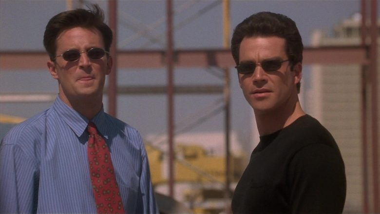 Ray-Ban Sunglasses Worn by Jon Tenney as Jeff in Fools Rush In (1997) - Movie Product Placement