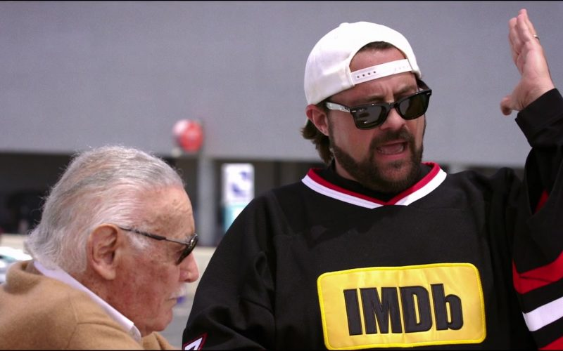 Ray-Ban Wayfarer Sunglasses and IMDB Jersey Worn by Kevin Smith in Jay and Silent Bob Reboot (2)