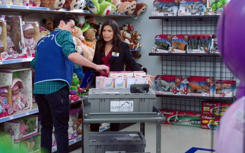 Razor Scooters in Superstore Season 5 Episode 13 Favoritism (2020)