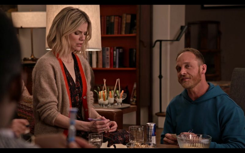 Red Bull Energy Drink Enjoyed by Ethan Embry as Coyote in Grace and Frankie Season 6 Episode 3 The Trophy Wife (2020)
