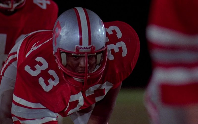 Riddell Football Helmet Worn by Forest Whitaker as Charles Jefferson in Fast Times at Ridgemont High (1982)
