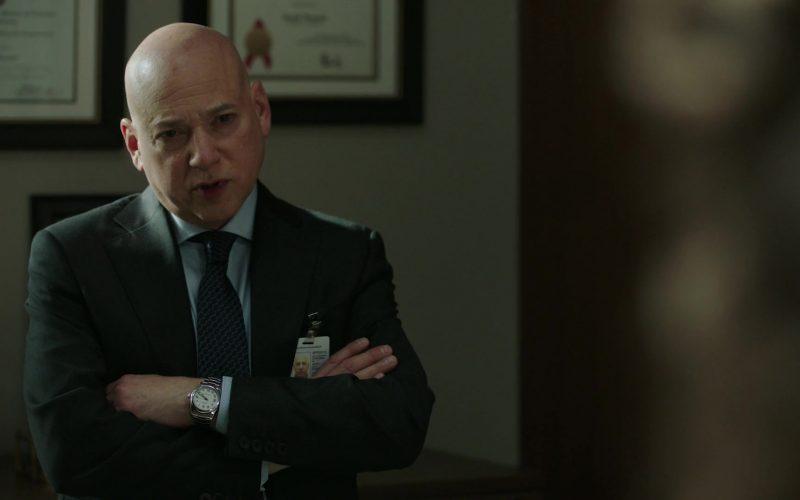 Rolex Watch Worn by Evan Handler as Jacob Warner in Power Season 6 Episode 12 He Always Wins