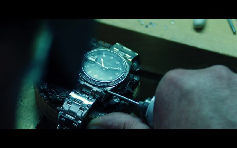 Rolex Wrist Watch in Uncut Gems (2019)