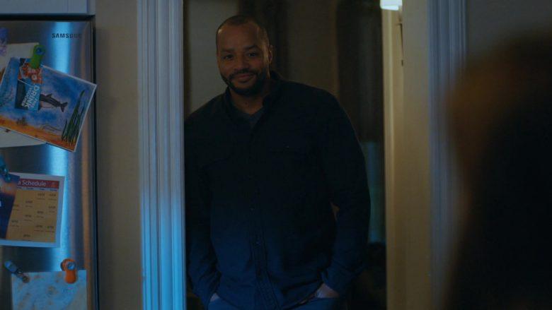 Samsung Refrigerator in Emergence Season 1 Episode 11 Applied Sciences (2020)
