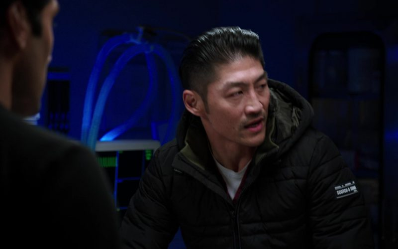 Scotch & Soda Men's Down Jacket Worn by Brian Tee as LCDR Dr. Ethan Choi in Chicago Med Season 5 Episode 11 (1)