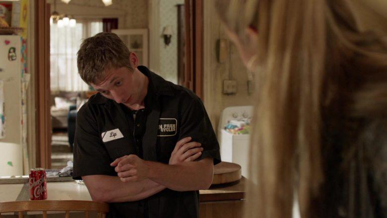 Shasta Cola Soda Enjoyed by Jeremy Allen White as Philip 'Lip' Gallagher in Shameless Season 10 Episode 9 O Captain, My Captain