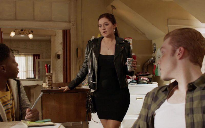 Shasta Soda Diet Cola Enjoyed by Emma Kenney as Debbie Gallagher in Shameless Season 10 Episode 9 (1)
