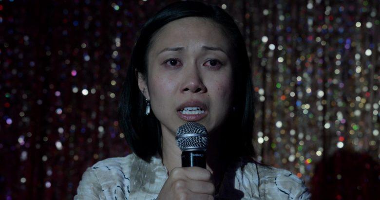 Shure Microphone in Little America Season 1 Episode 6 The Grand Prize Expo Winners