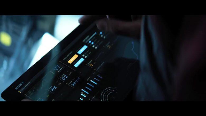 Sony Tablet in Bloodshot (2020) Movie