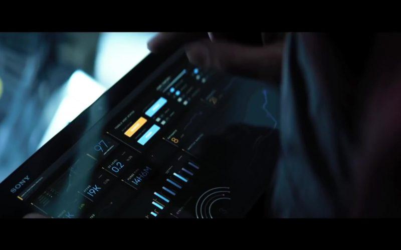 Sony Tablet in Bloodshot (2020)