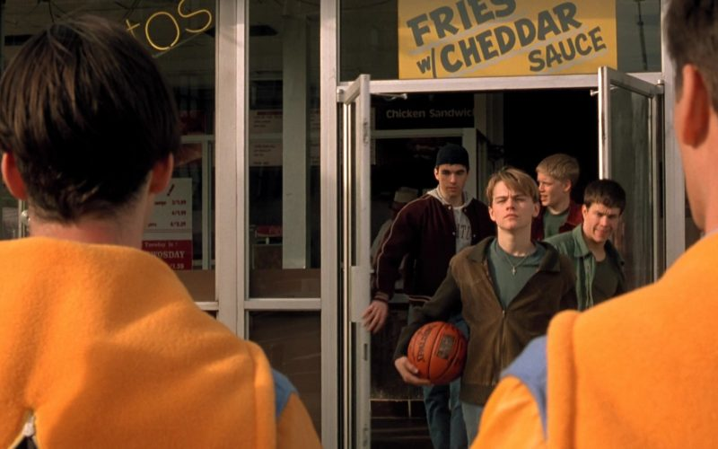 Spalding Basketball Held by Leonardo DiCaprio as Jim Carroll in The Basketball Diaries (1)