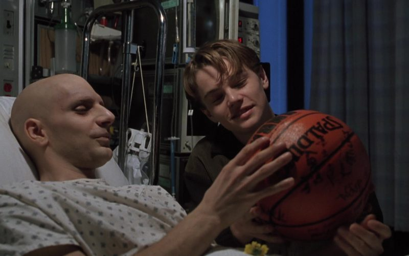 Spalding x Nba Basketball Held by Michael Imperioli as Bobby in The Basketball Diaries (1)