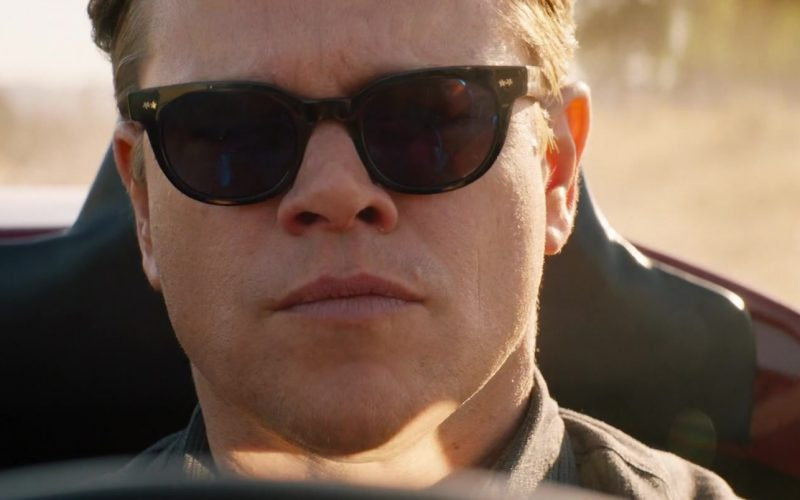 Spectaculars Benjamin Sunglasses Worn by Matt Damon as Carroll Shelby in Ford v Ferrari (3)