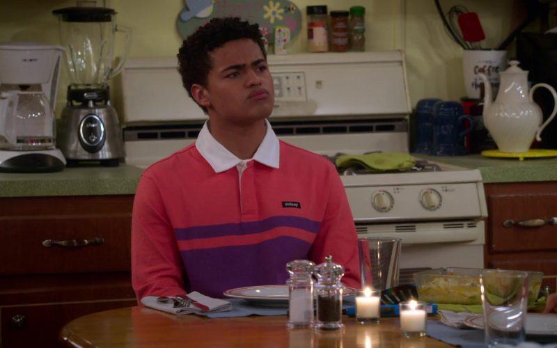Stüssy Shirt Worn by Nathaniel J. Potvin as Ryan in Alexa & Katie Season 3 Episode 4 Unconsciously Coupling (2)