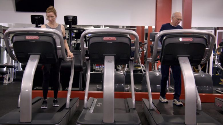 "Star Trac Treadmills in Curb Your Enthusiasm Season 10 Episode 1 ""Happy New Year"" (2020) TV Show"