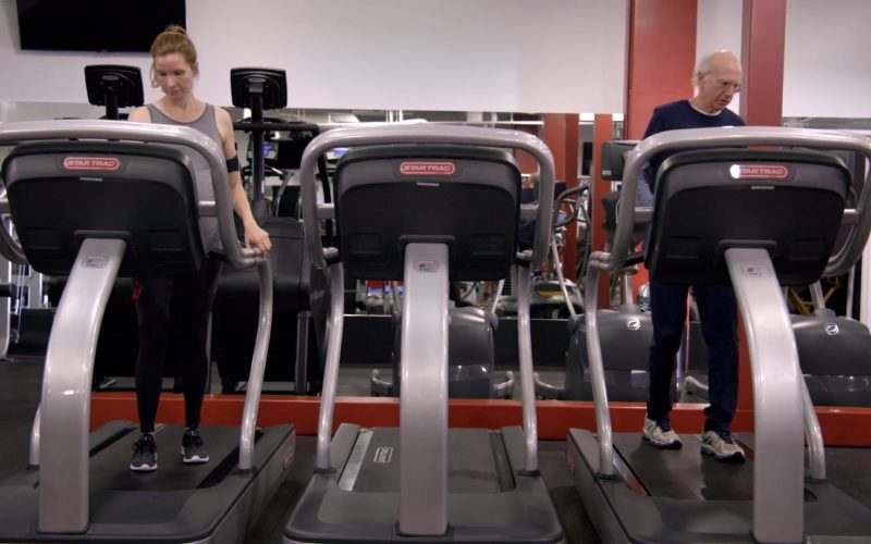 Star Trac Treadmills in Curb Your Enthusiasm Season 10 Episode 1 Happy New Year (1)