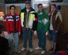Starter NFL Philadelphia Eagles Green Jacket Worn by Troy Gentile as Barry in The Goldbergs Season 7 Episode 13 (2)