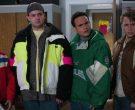 Starter NFL Philadelphia Eagles Green Jacket Worn by Troy Gentile as Barry in The Goldbergs Season 7 Episode 13 (3)
