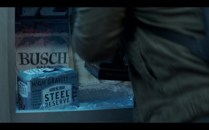 Steel Reserve and Busch Beer in Messiah Season 1 Episode 7 It Came to Pass as It Was Spoken